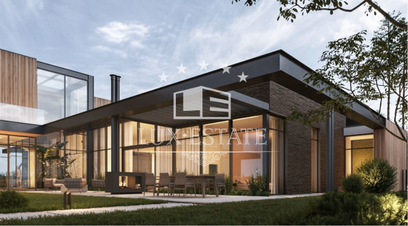 Продам дизайнерский дом, с выходом на воду Б Дамба Конча-Заспа